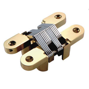 High Class Low Price 19*95mm Zinc Alloy SS304 Heavy Duty Invisible Concealed Hinge for Wooden Cabinet Gate Door