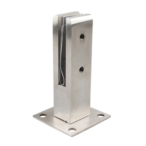 Canada Popular Glass Pool Fencing Satin Glass Clamp Adjustable Spigot Made of Stainless Steel SS316