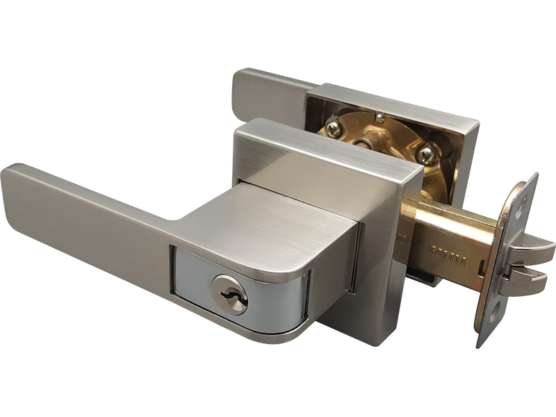 zinc alloy push or pull tubular lever lock