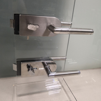 Stainless Steel Glass Door Lock/Glass Door Handle/Handle Lock