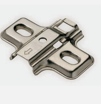 Cabinet Hinges clip-on Mounting Plate Screw on 0mm